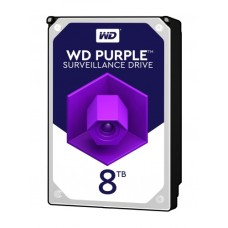 WD Purple 3.5 SATA III 6Gb/s 8TB 128MB 7/24 Guvenlik WD81PURZ