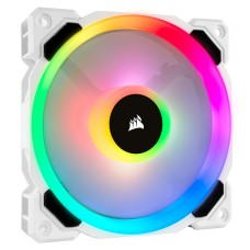 Corsair CO-9050091-WW LL120 RGB 120mm DUAL LIGHT LOOP RGB LED PWM White FAN